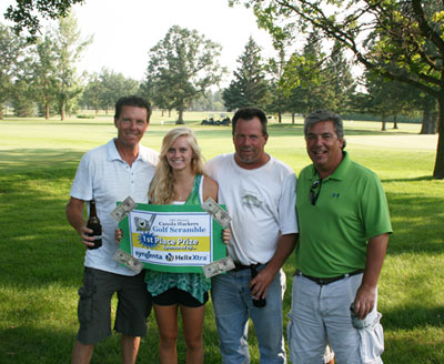 Golf Scramble 2012 1st place