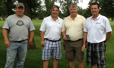 Golf Scramble 2013 1st place